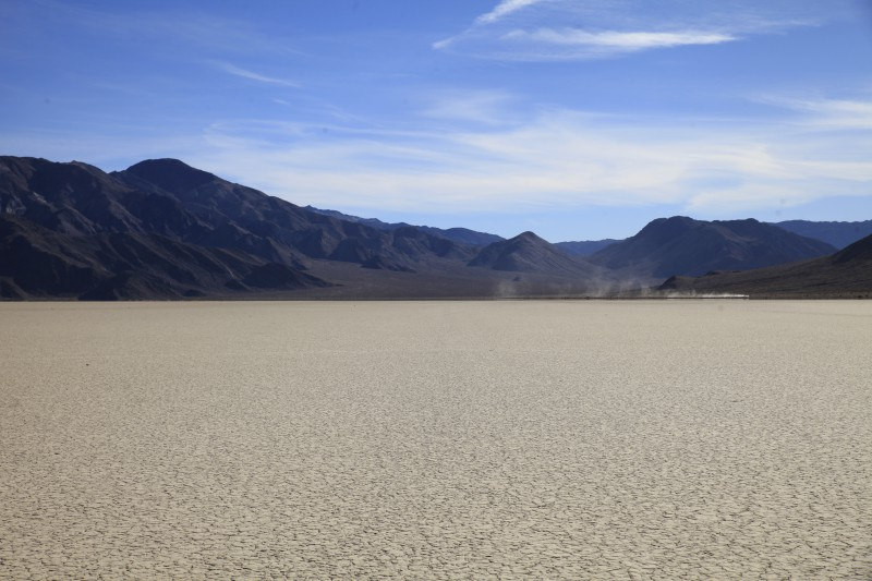 The Racetrack playa  death valley