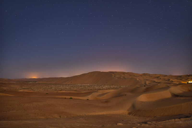 Super Zoomable HDR Of Arabic Desert At Night