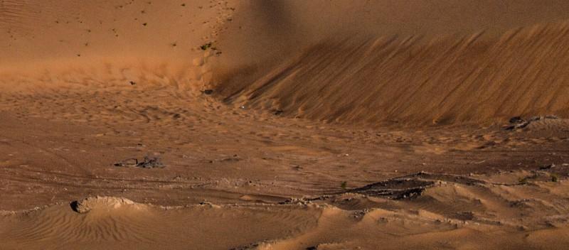 zoomed hdr desert