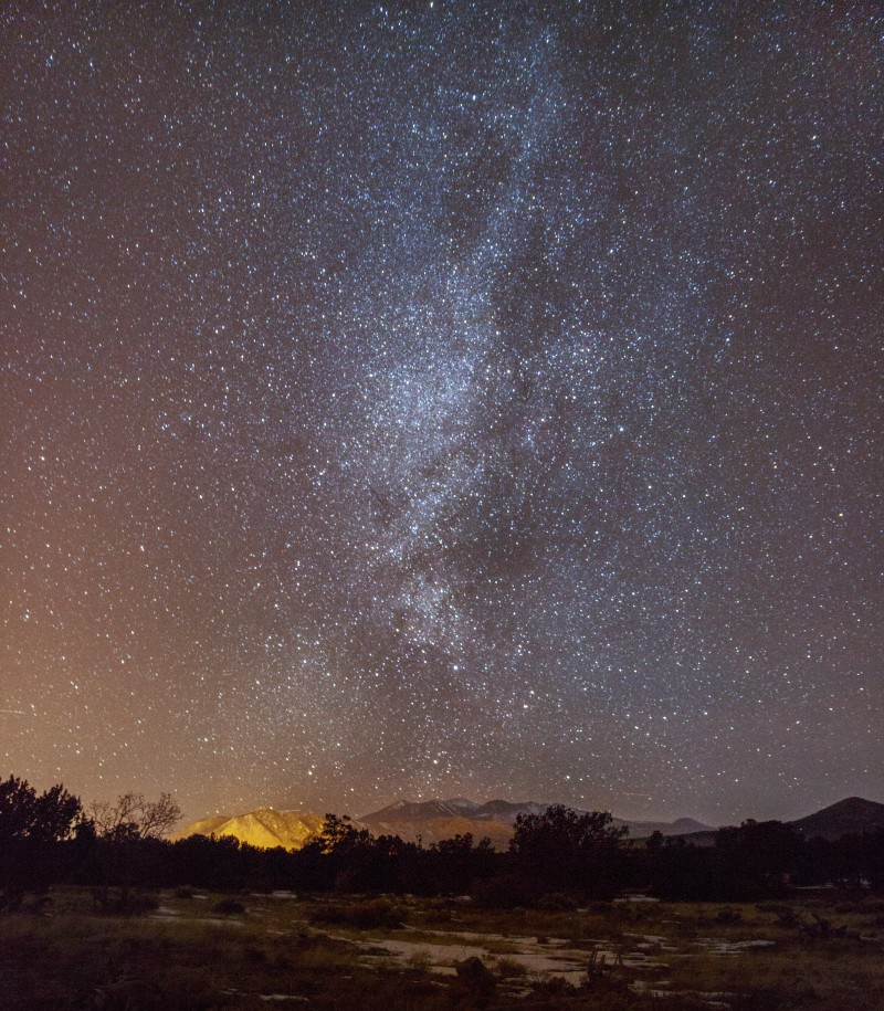 milkyway over Arizona